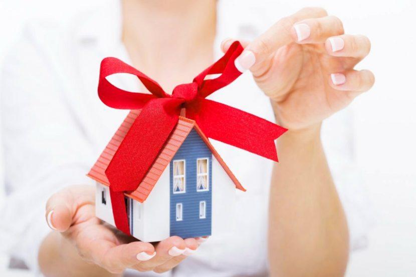 дарування нерухомості